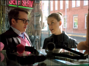 "Matthew Broderick and Alice Eve in ""Dirty Weekend"""