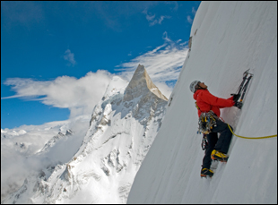 "Jimmy Chin in ""Meru"""