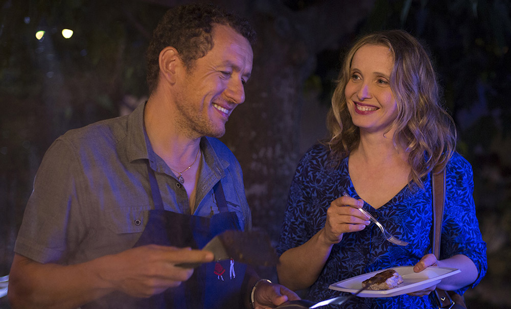 """Dany Boon and Julie Delpy in """"Lolo"""""""