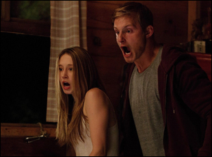 "Taissa Farmiga and Alexander Ludwig in ""The Final Girls"""