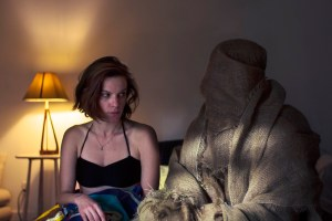 "Lindsay Burdge and Peter Vack in ""Lace Crater"""