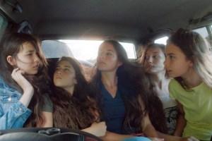 "Tugba Sunguroglu, Doga Zeynep Doguslu, Elit Iscan, Ilayda Akdogan and Günes Sensoy in ""Mustang"""