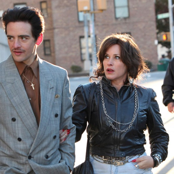 "Vincent Piazza and Patricia Arquette in ""The Wannabe"""