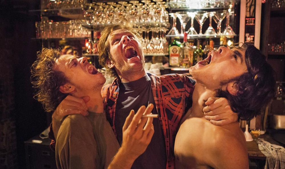 """Stef Aerts, Tom Vermeir and Stefaan De Winter in """"Belgica"""""""