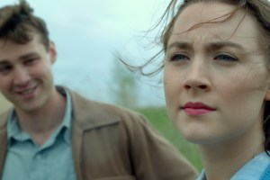 "Saoirse Ronan and Emory Cohen in ""Brooklyn"""