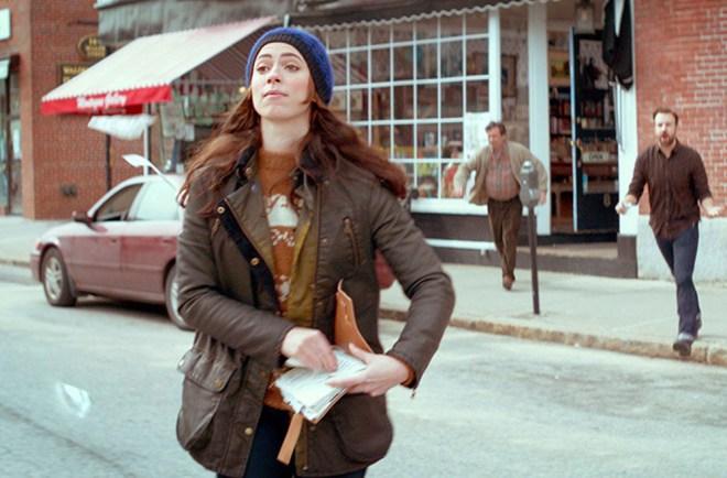 "Rebecca Hall and Jason Sudeikis in ""Tumbledown"""