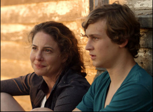 "Robin Weigert and Logan Miller in ""Take me to the River"""
