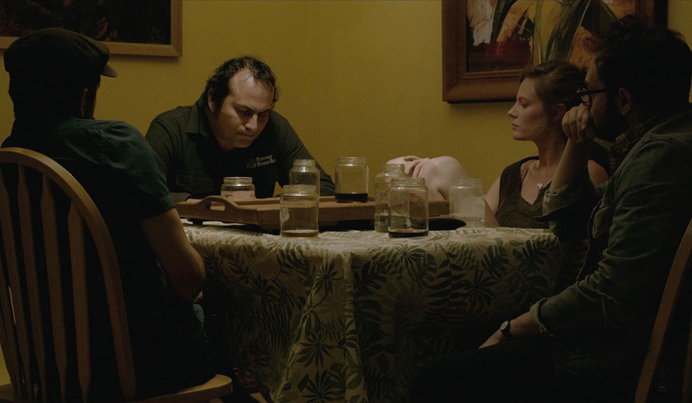 """Arthur Martinez, Lindsay Burdge, Mike Ott and Nathan Silver in """"Actor Martinez"""""""