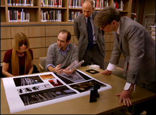"Anna Wintour and Andrew Bolton in ""First Monday in May"""