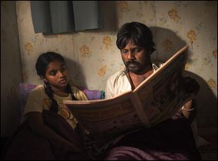 """Jesuthasan Antonythasan and Kalieaswari Srinivasan in """"Dheepan"""""""