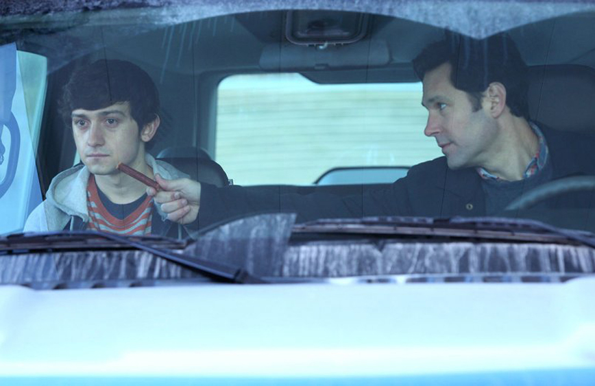 """Paul Rudd and Craig Roberts in """"The Fundamentals of Caring"""""""