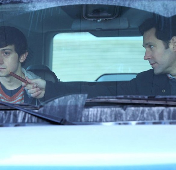 "Paul Rudd and Craig Roberts in ""The Fundamentals of Caring"""