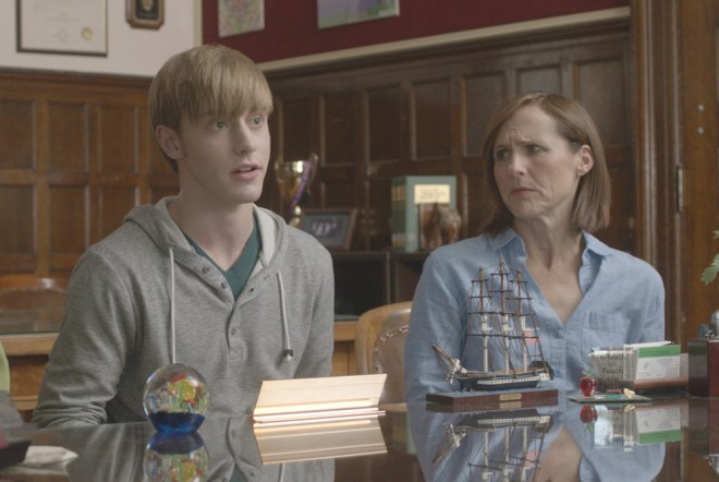 """Tim Boardman and Molly Shannon in """"Miles"""""""