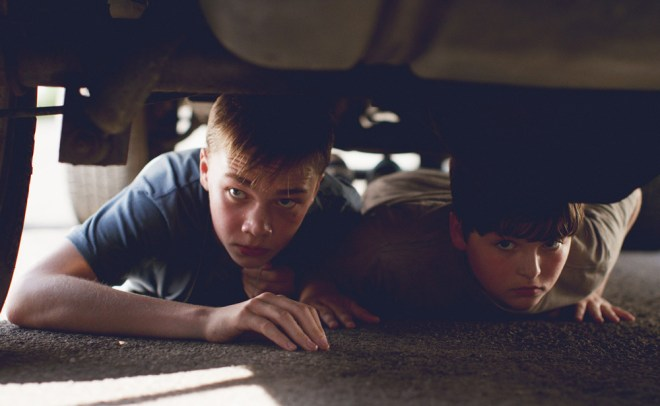 """Charlie Plummer and Cory Nichols in """"King Jack"""""""
