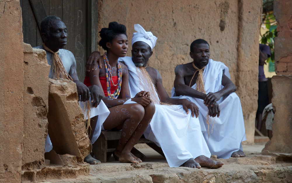 """A scene from Leila Djansi's """"Like Cotton Twines"""""""