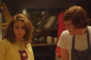 "Alexi Pappas and Chase Offerle in ""Tracktown"""