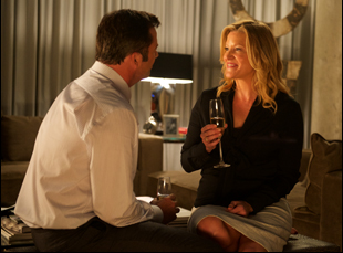 "James Purefoy and Anna Gunn in ""Equity"""