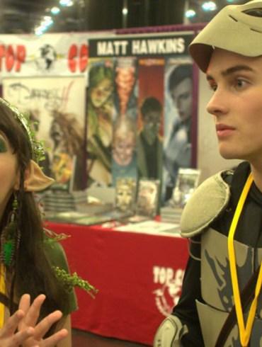 "Hannah Marks and Michael Johnston in ""Slash"""