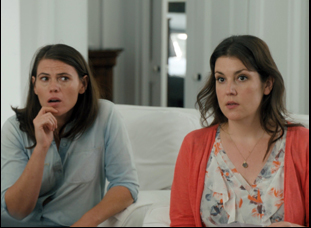 "Clea Duvall and Melanie Lynskey in ""The Intervention"""