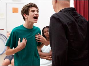 """Michael Barbieri in """"Little Men"""""""