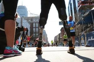 "A scene from Ricki Stern and Annie Sundberg's ""Marathon"""