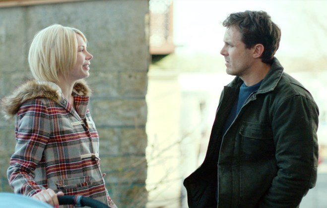 "Michelle Williams and Casey Affleck in ""Manchester By the Sea"""