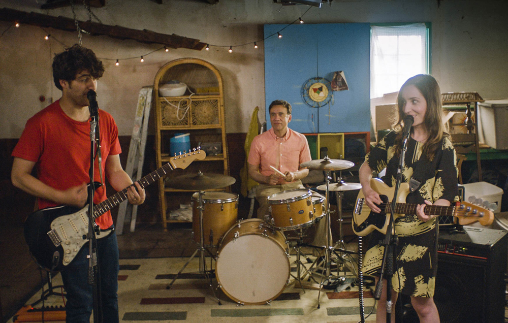 """Zoe Lister Jones, Adam Pally and Fred Armisen in """"Band Aid"""""""