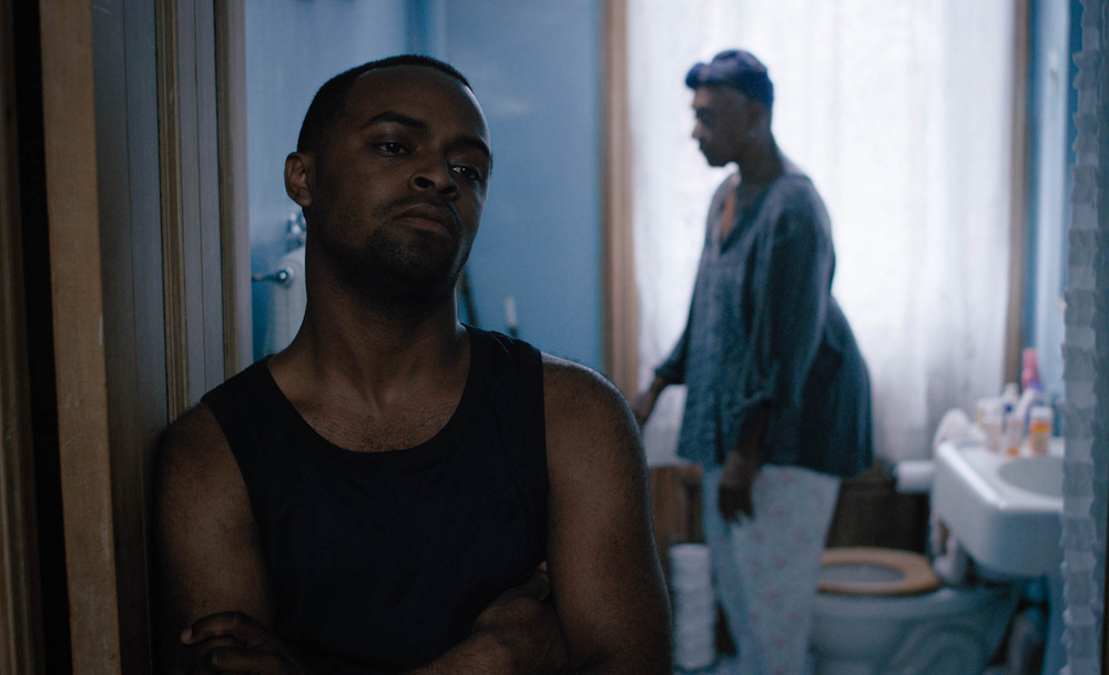 """Jimmie Jeter and Bethann Hardison in """"Hold On"""""""