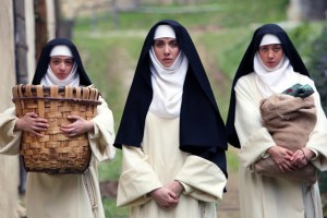 "Kate Micucci, Alison Brie and Aubrey Plaza in ""The Little Hours"""