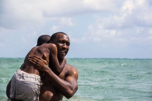 "Mahershala Ali and Alex R. Hibbert in ""Moonlight"""