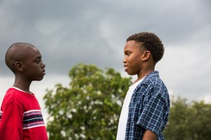 "Alex R. Hibbert and Jaden Piner in ""Moonlight"""
