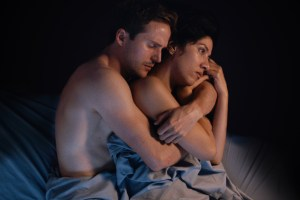 "Michael Stahl David and Stephanie Beatriz in ""The Light of the Moon"""
