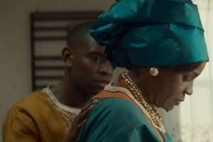 "Aml Ameen and Michael Hyatt in ""Dara Ju"""