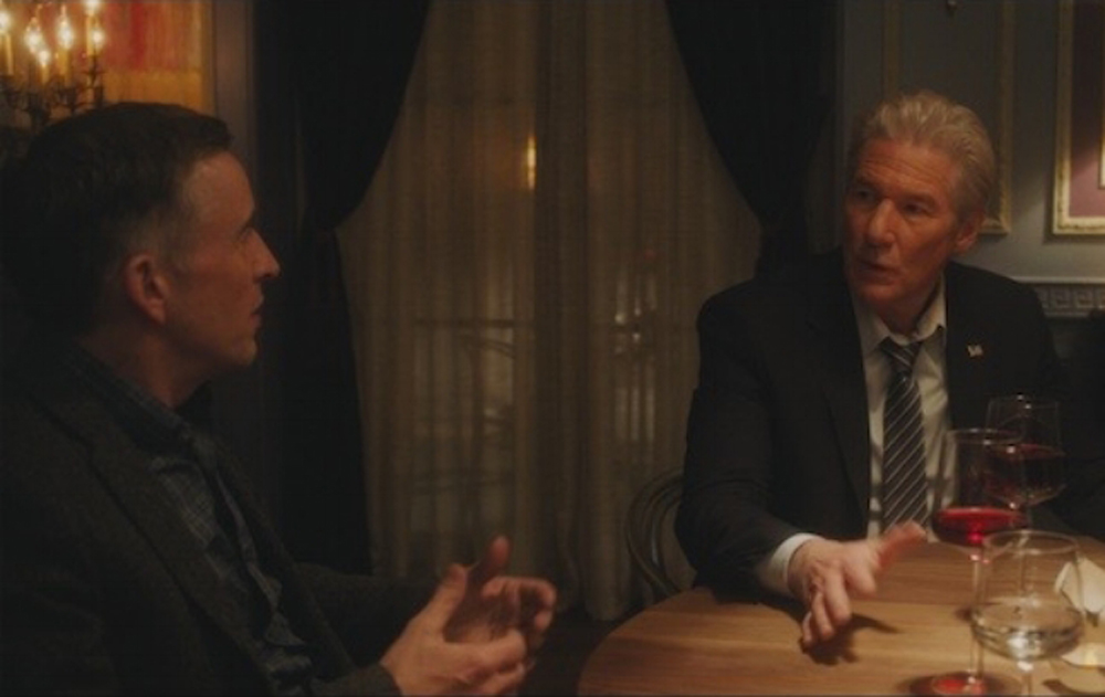 """Steve Coogan and Richard Gere in """"The Dinner"""""""