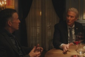 "Steve Coogan and Richard Gere in ""The Dinner"""