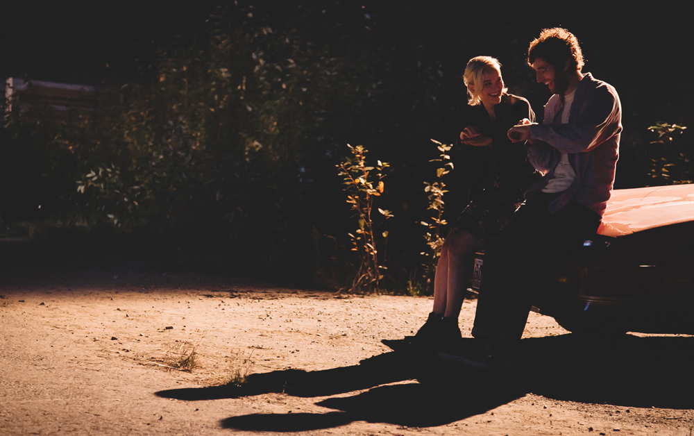 "Jess Weixler and Thomas Middleditch in ""Entanglement"""