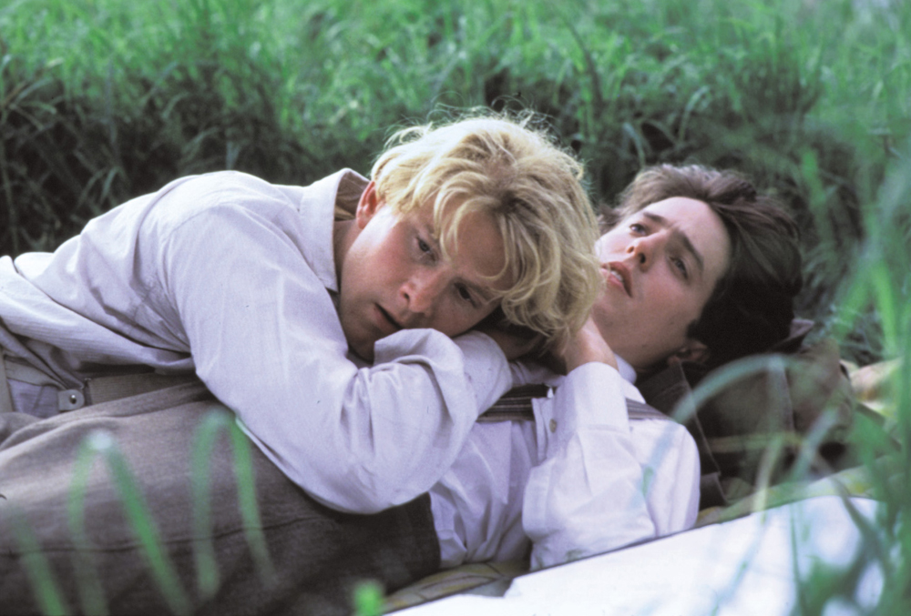 """James Wilby and Hugh Grant in """"Maurice"""""""