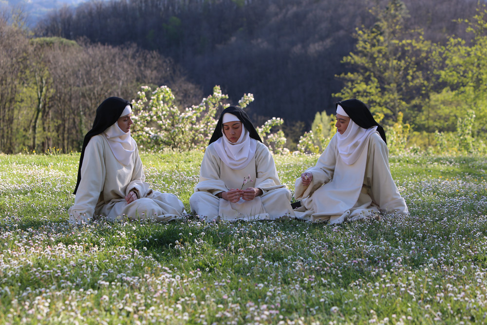 """Aubrey Plaza, Kate Micucci and Alison Brie in """"The Little Hours"""""""