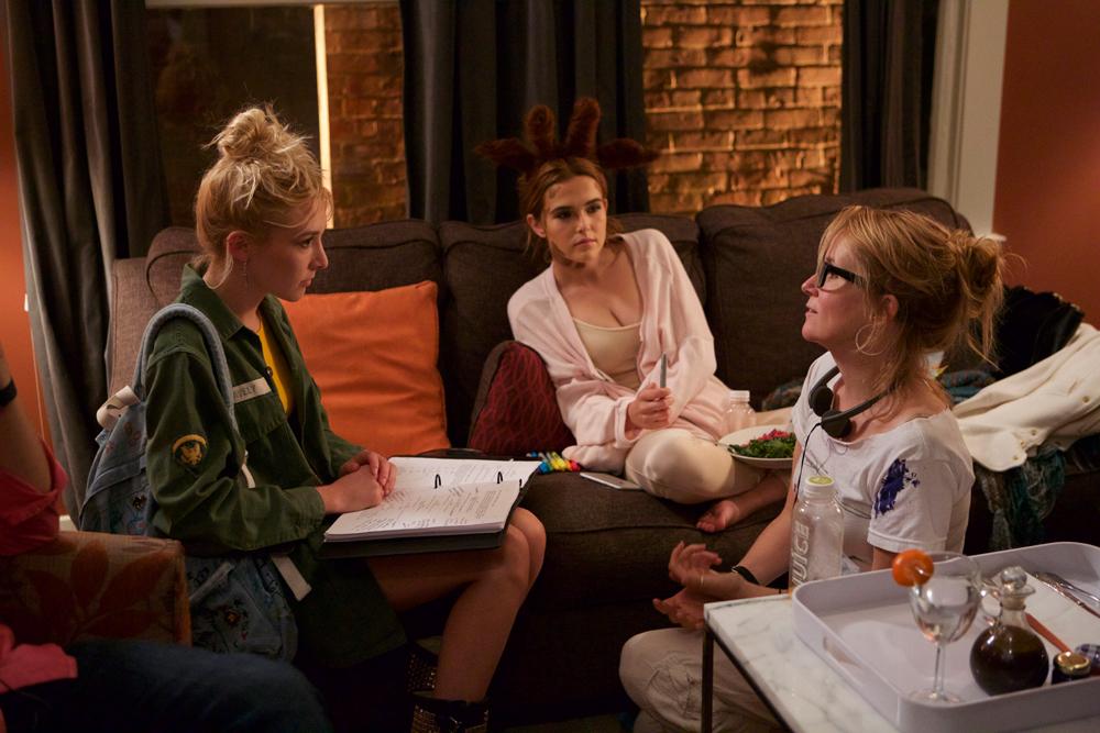 "Lea Thompson, Madelyn Deutch, Zoey Deutch in ""The Year of Spectacular Men"""