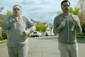 """Elliott Gould and Jemaine Clement in """"Humor Me"""""""