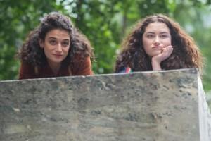 "Jenny Slate and Abby Quinn in ""Landline"""