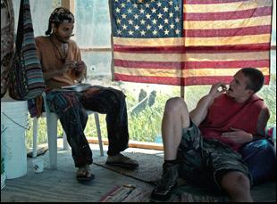 "Blaze and Mitchell Slaggert in ""Moss"""