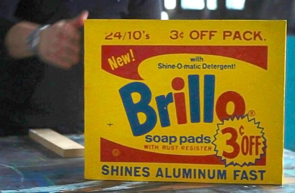 """A scene from Lisanne Skyler's """"Brillo Box"""""""