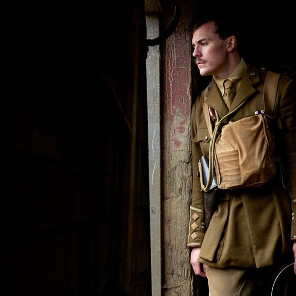 "Sam Claflin in ""Journey's End"""