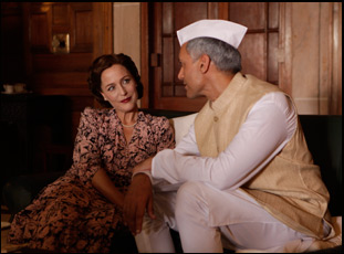 """Gillian Anderson in """"Viceroy's House"""""""