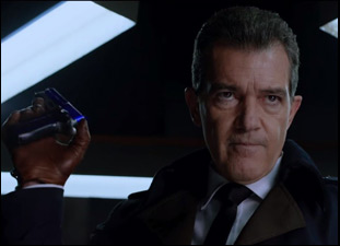 "Antonio Banderas in ""Bullet Head"""
