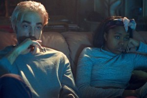 "Robert Pattinson and Taliah Webster in ""Good Time"""