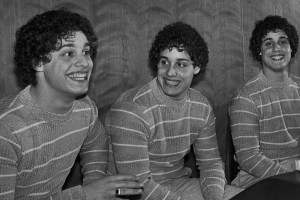 "Bobby Shafran, Eddy Galland and David Kellman in ""Three Identical Strangers"""