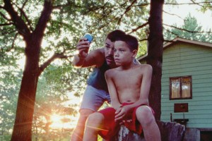 "Evan Rosado and Raul Castillo in ""We the Animals"""
