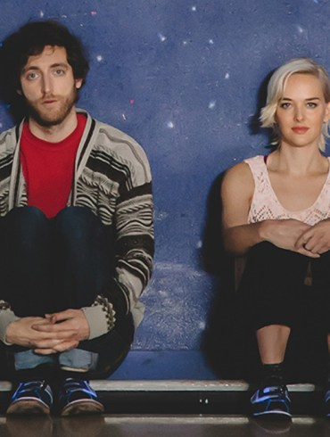 """Thomas Middleditch and Jess Weixler in """"Entanglement"""""""